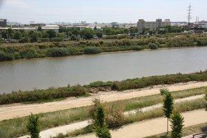 El río Llobregat a su paso por El Prat en una imagen de archivo