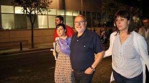 El director de 'El Vallenc',Francesc Fàbregas, que se negó a declarar ante la Guardia Civil.