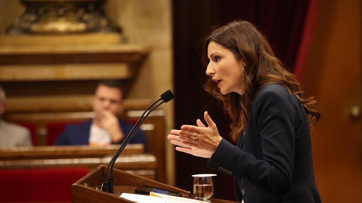 """Cs acusa a JxCat y ERC de """"vetar"""" sus enmiendas a los presupuestos"""