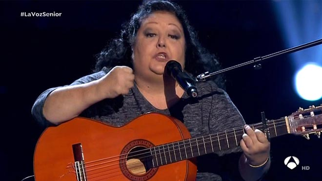 Rosario Moreno La Tata (La Voz Senior).