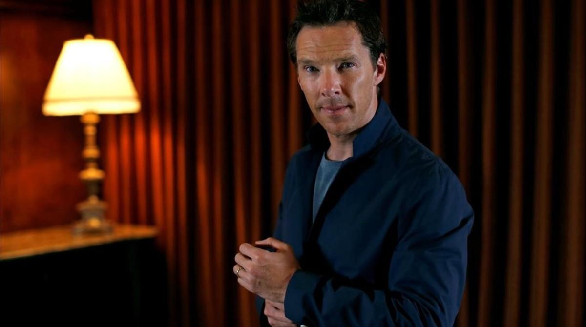 Benedict Cumberbatch, en Beverly Hills, durante la promoción de 'Doctor Strange'.
