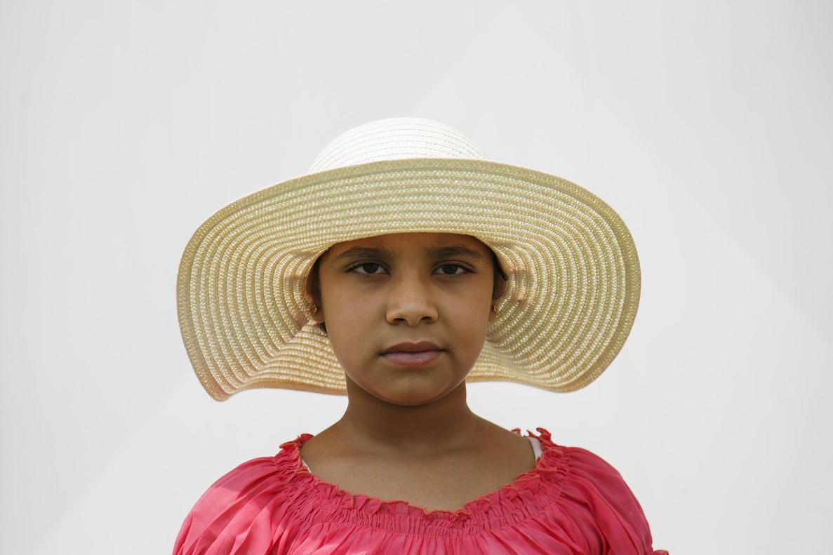 Aida vive con su familia en un campo de refugiados en la isla griega de Chios.