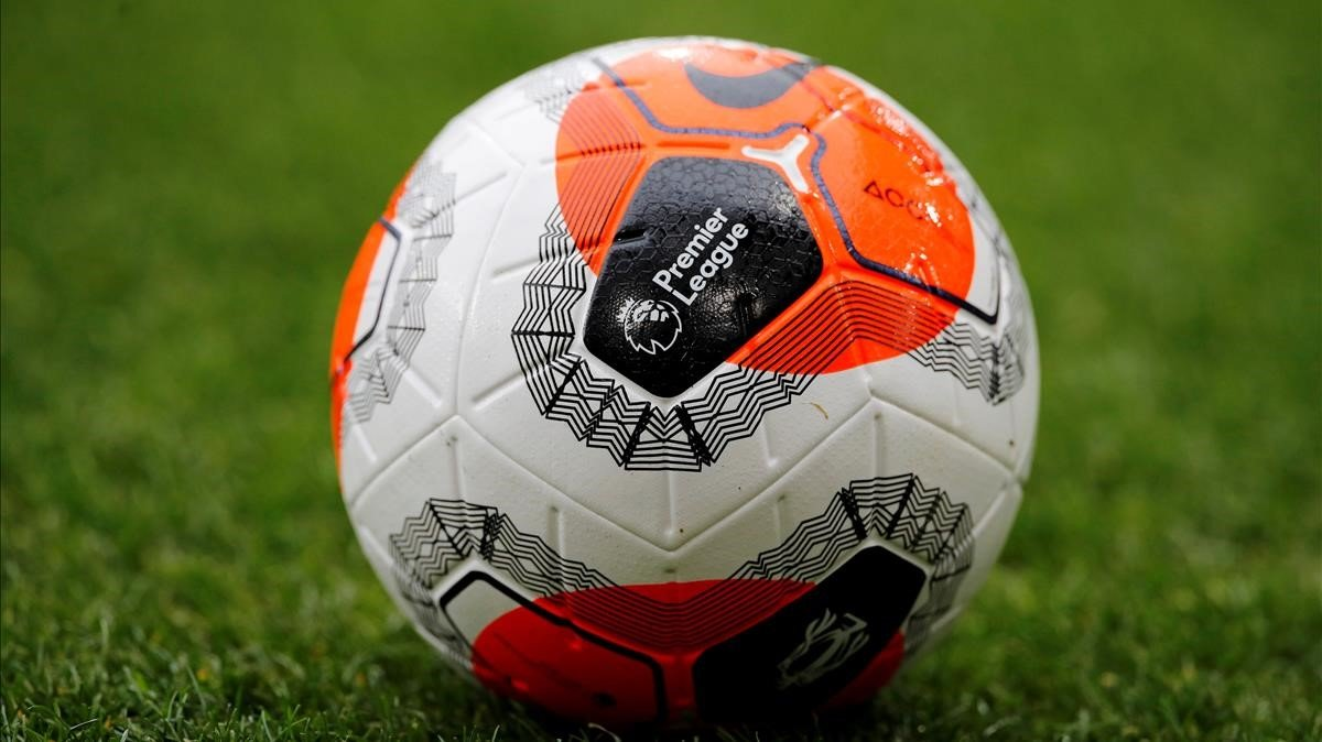 Un balón de la Premier League.