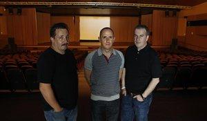 Sergi Caballero, Enric Palau y Ricard Robles, los directores del Sónar.