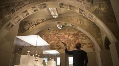 Guirao defiende que las pinturas de Sijena se queden en el MNAC hasta el fallo definitivo