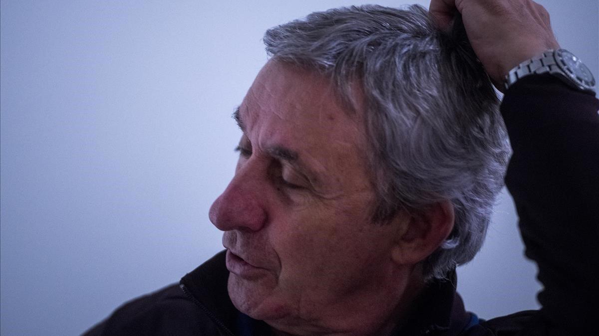 Svetislav Pesic, durante la entrevista con EL PERIÓDICO.