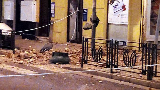 Terratrèmol de 6,3 graus al mar d'Alborán.