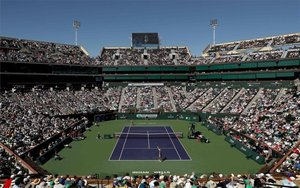 El torneode de Indian Wells.
