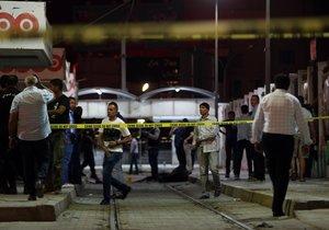 La polícia de Túnez trabaja en en lugar donde mató a un presunto terrorista.