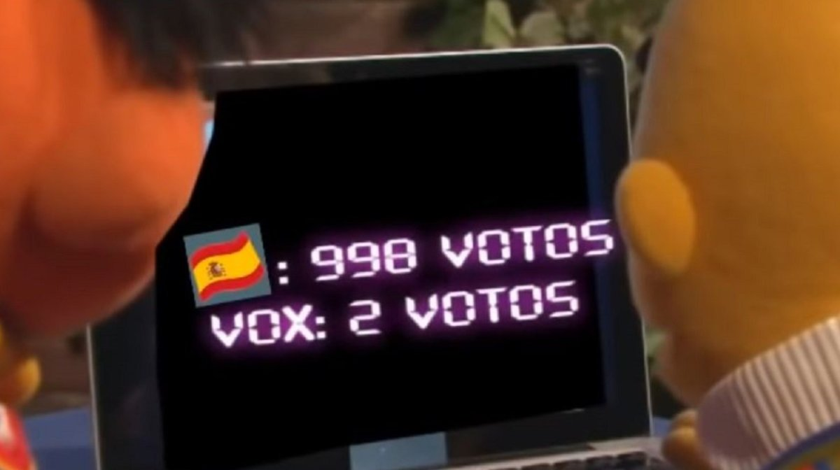 Una captura de pantalla del vídeo.