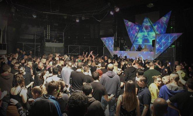 Una de las míticas sesiones de la discoteca Pont Aeri, en Vallgorguina.