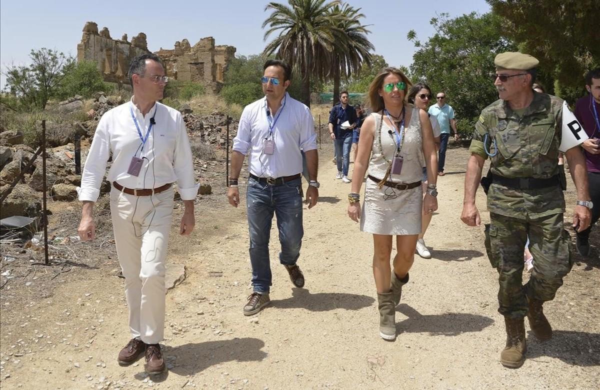 Cuarto milenio\' visita zona militar misteriosa para celebrar 500