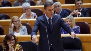 """Sánchez allarga la mà a Torra i acusa el PP de """"dividir"""""""