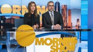 Jennifer Aniston y Steve Carell en unaimagen de la serie 'The morning show'.