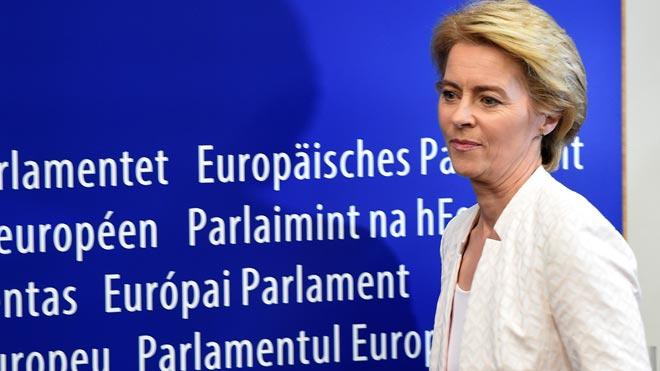 Ursula von der Leyen, primera mujer presidenta de la Comisión Europea.