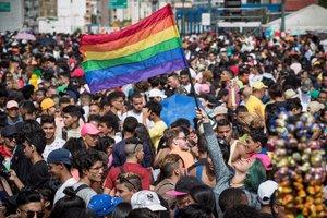 Marcha del Orgullo Gay yLGBTI en Venezuela.