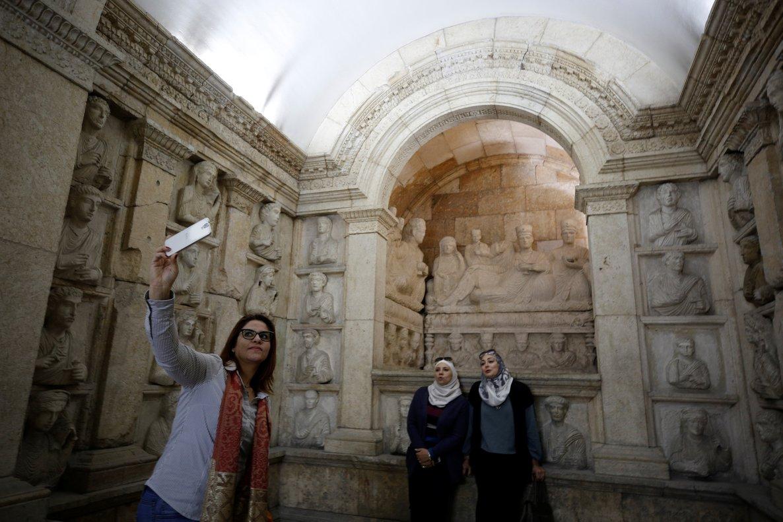 El Museo Nacional de Damasco reabre después de 6 años cerrado