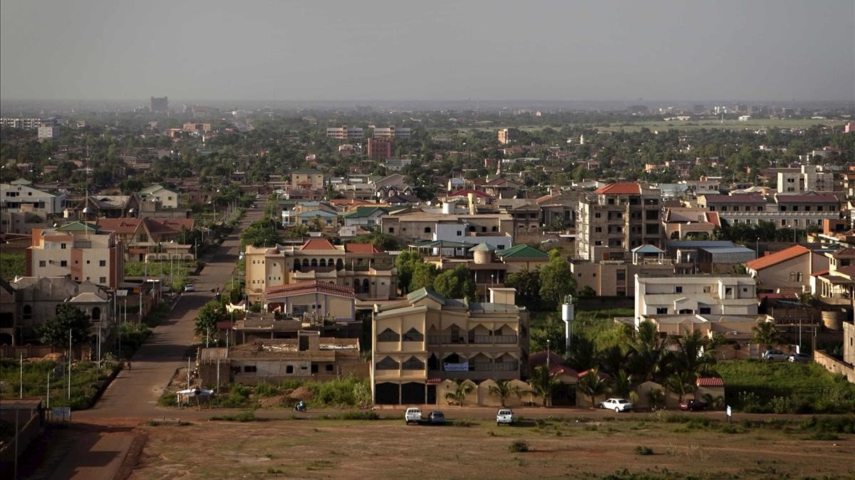 Vista general de Uagadugú, capital de Burkina Faso.