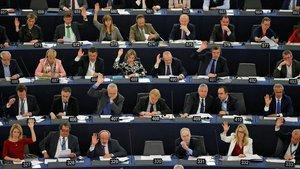 Votación en el Parlamento Europeo