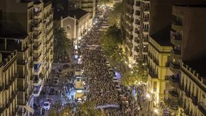 La patronal, los principales sindicatos, los partidos -salvo el PP- y unas 200 organizaciones sociales se han manifestado por una mejor financiación autonómica en Valencia.