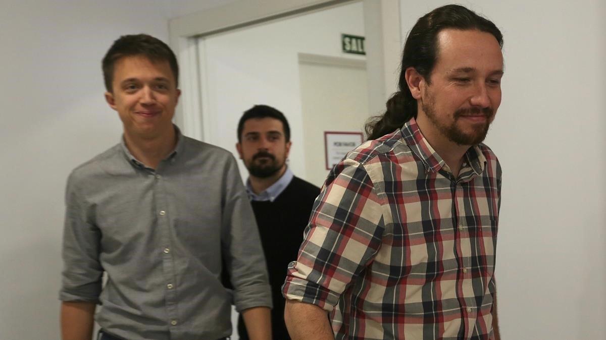 Iglesias al·lega que Errejón no és un traïdor i recula per pactar