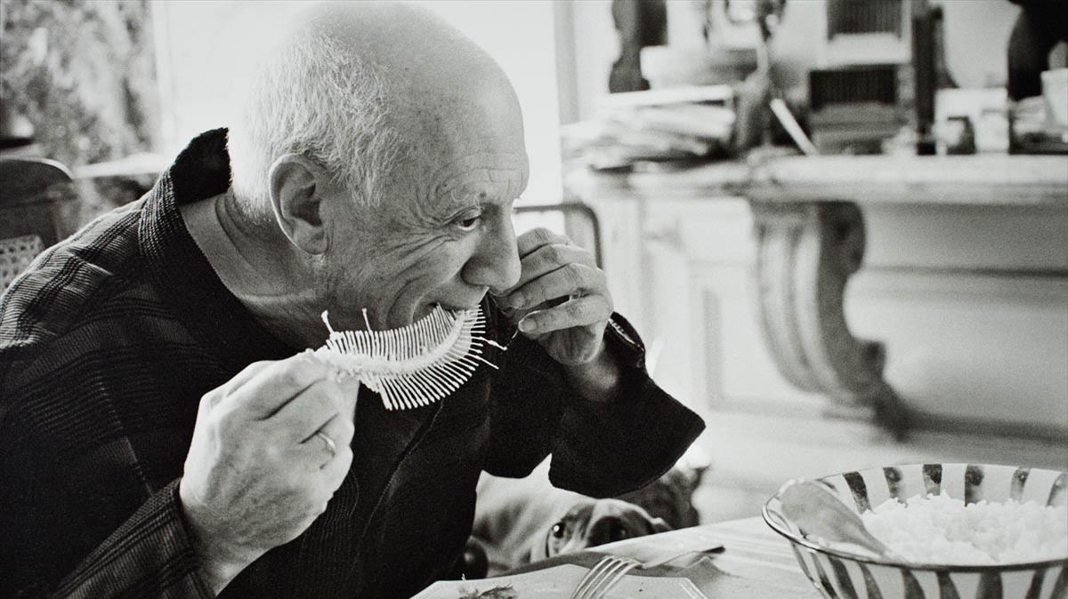 Una imagen de 'La cocina de Picasso', exposición del Museu Picasso de Barcelona.