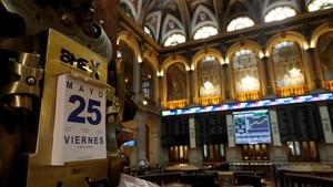 El indicador de la Bolsa de madrid marcaba subidas a primera hora de este viernes.