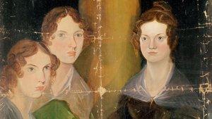 Las hermanas Brönte pintadas por su hermano Branwell en 1834.