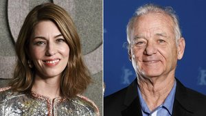 La directora Sofia Coppola y el actor Bill Murray.