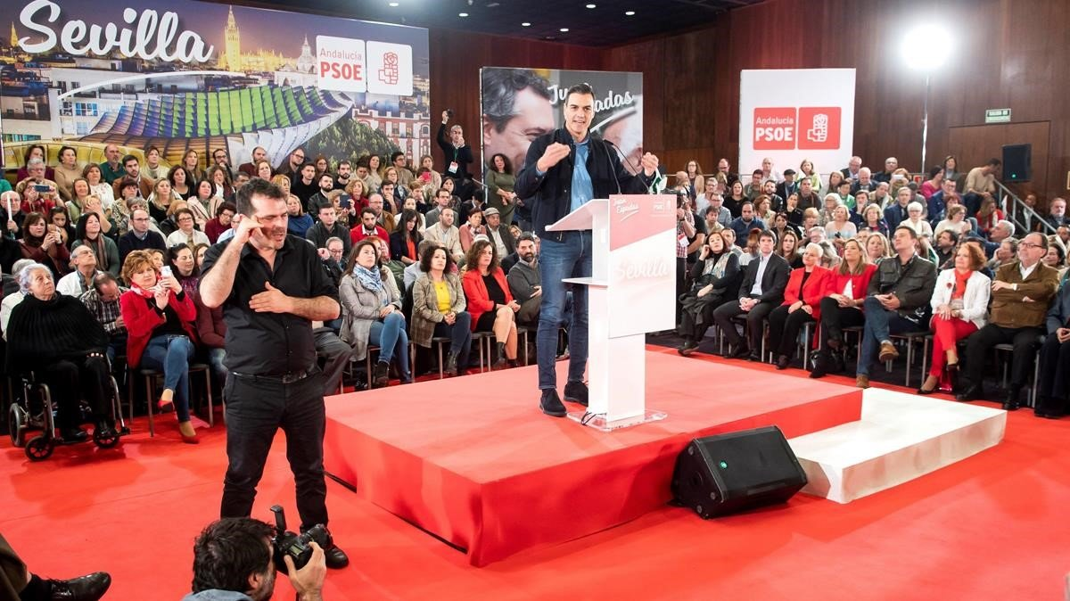El PSOE parteix amb avantatge