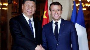 El presidente chino sigue en Francia su gira para una 'nueva ruta de la seda'