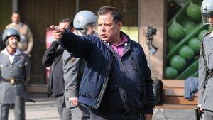 El director, Víctor Cabaco, durante el rodaje del filme.