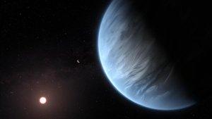 Primera detecció d'aigua en un planeta potencialment habitable