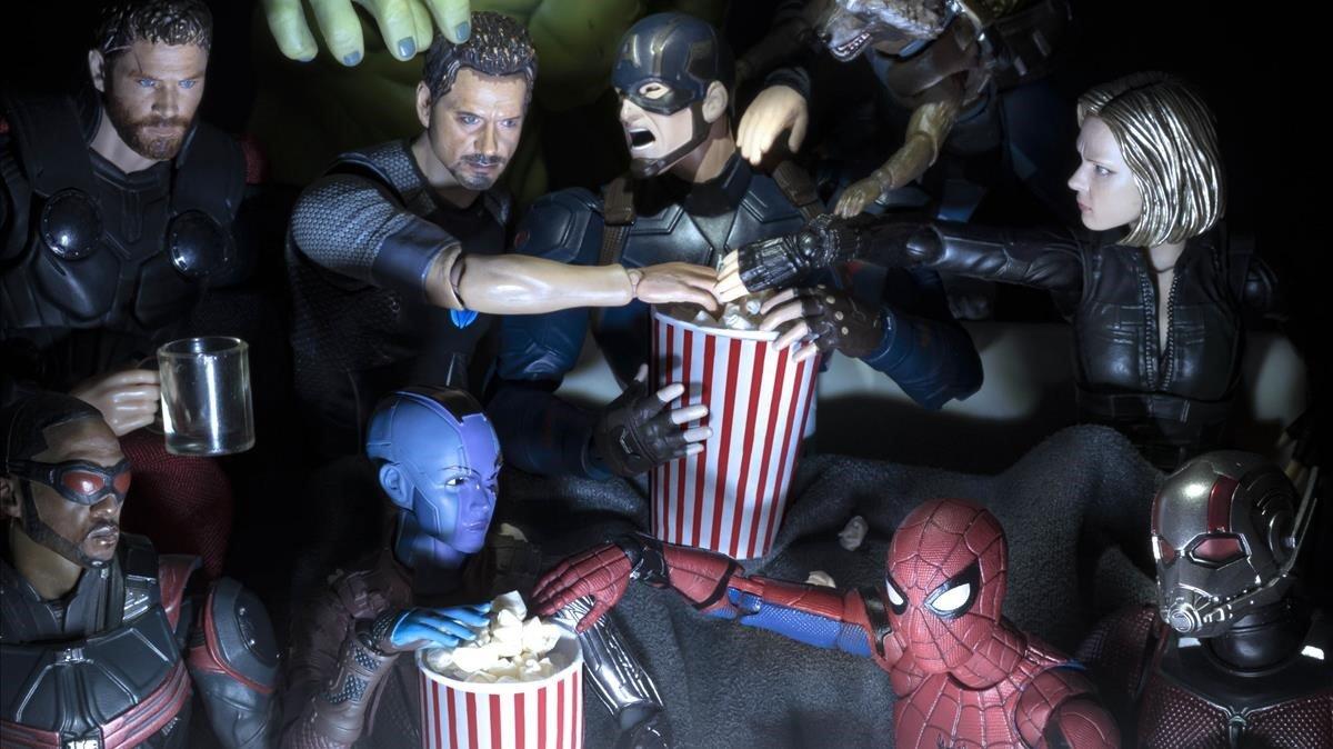 Els superherois també fan quarantena