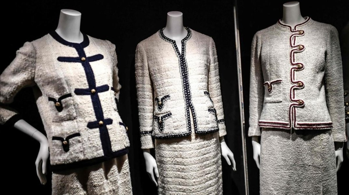 Trajesclásicos de Chanel.