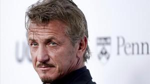 Sean Penn, en una gala en Los Ángeles