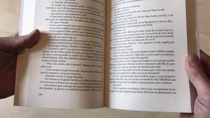 Uno de los libros de Som Ara Llibres en los que la cooperativa ha borrado el número de la página 155.