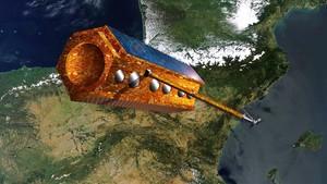 El satélite español Paz.