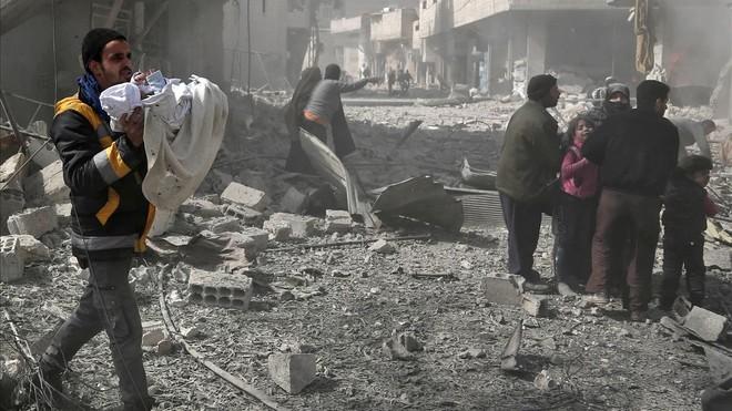 Cerca de 80 muertos por bombardeos en el enclave rebelde sirio de Guta