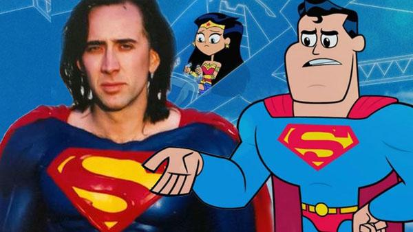 Nicolas Cage cumple su sueño: interpretar a Superman.