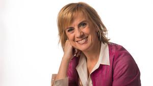 La periodista Gemma Nierga, ganadora de un Premio Ondas en 1997 por el programa Hablar por hablar, de la Cadena SER