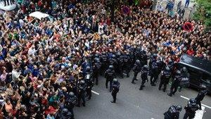 Les causes pendents per les càrregues policials de l'1-O