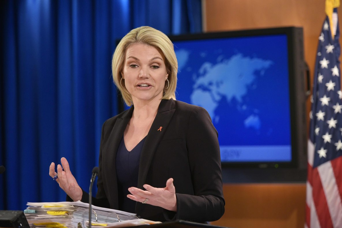 US President Donald Trump is set to name State Department spokeswoman Heather Nauert as the next US ambassador to the United Nations  according to multiple reports.   Photo by Mandel Ngan   AFP