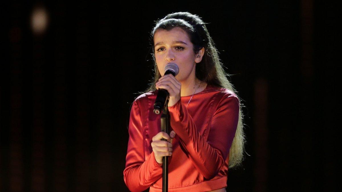 Amaia interpretando 'Canción de Marisol'.