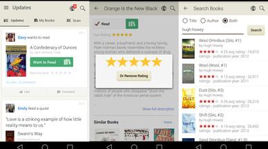 Las mejores aplicaciones de la semana: Goodreads