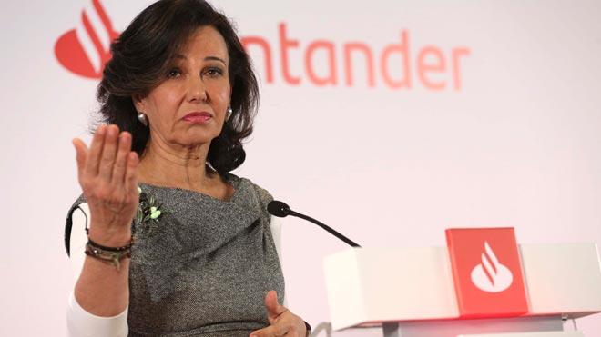 El Banco Santander ganó 7.810 millones de euros en 2018, el 18 % más. En la imagen, Ana Patricia Botín.