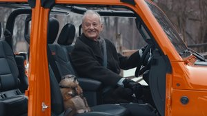 Bill Murray y la marmota, en el anuncio de Jeep.