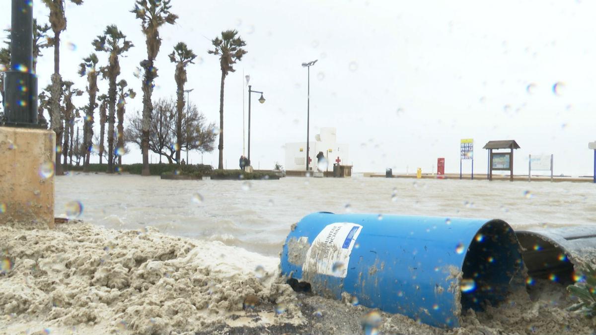 La borrasca 'Gloria' ha provocado numerosos problemas en diferentes zonas de la Comunidad Valenciana.