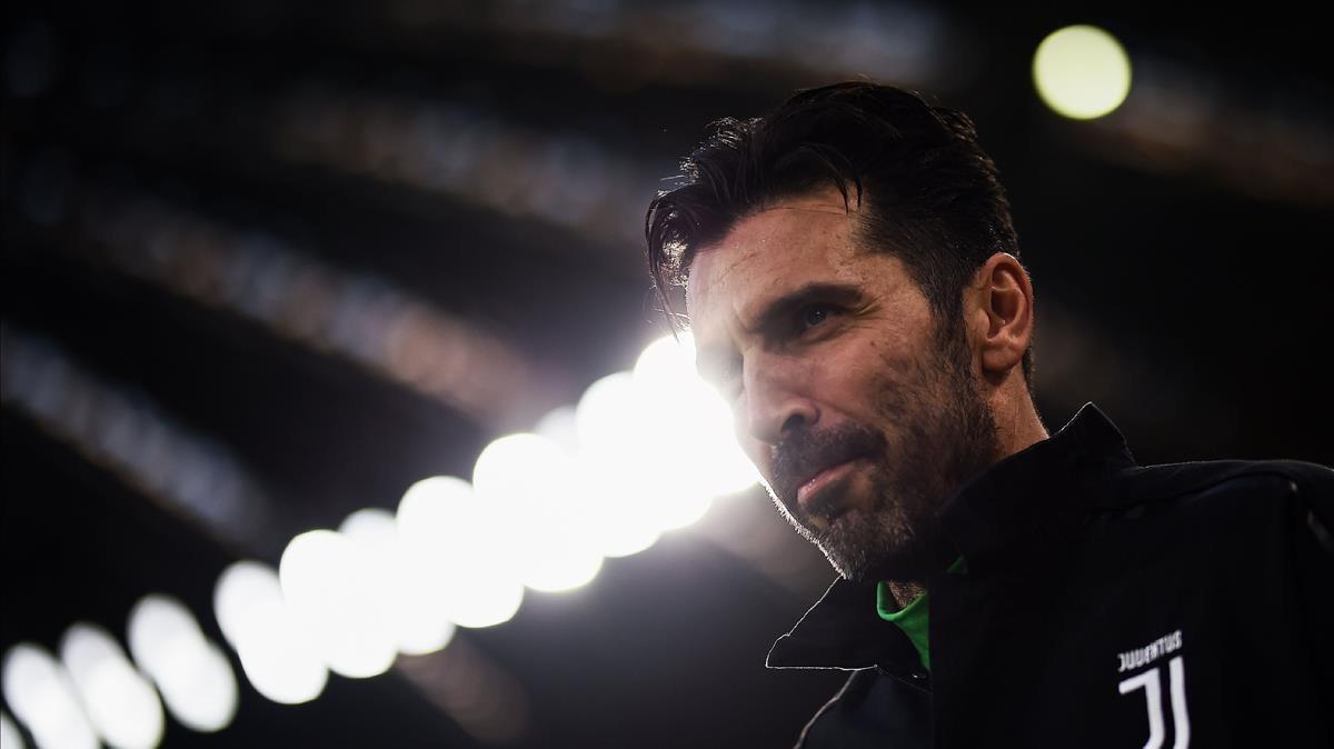Buffon, nuevo portero del PSG.