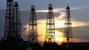 Campo de extracción petrolífero en Cabimas, a 500 kilómetros de Caracas.